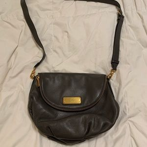 Michael Kors Natasha Leather Gray Purse